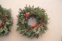 Cardinal-wreath