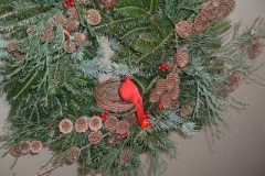 Our-signature-Cardinal-Wreath