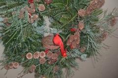 Our-signature-Cardinal-Wreath